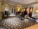 Lobby leading to management office - 19375 CYPRESS RIDGE TER #803, LEESBURG