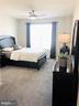 2nd Master Suite w/Ceiling Fan and Walk-In Closet - 43047 STUARTS GLEN TER #105, ASHBURN