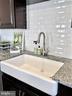 Farmhouse Porcelain Sink - 43047 STUARTS GLEN TER #105, ASHBURN