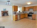 Spacious Kitchen Open to Family Room - 8232 EMORY GROVE RD, GAITHERSBURG