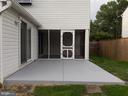 Newly painted Patio - 8232 EMORY GROVE RD, GAITHERSBURG