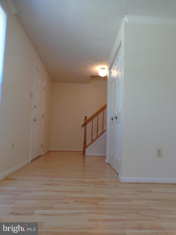 Traditional Foyer with Coat Closet - 8232 EMORY GROVE RD, GAITHERSBURG