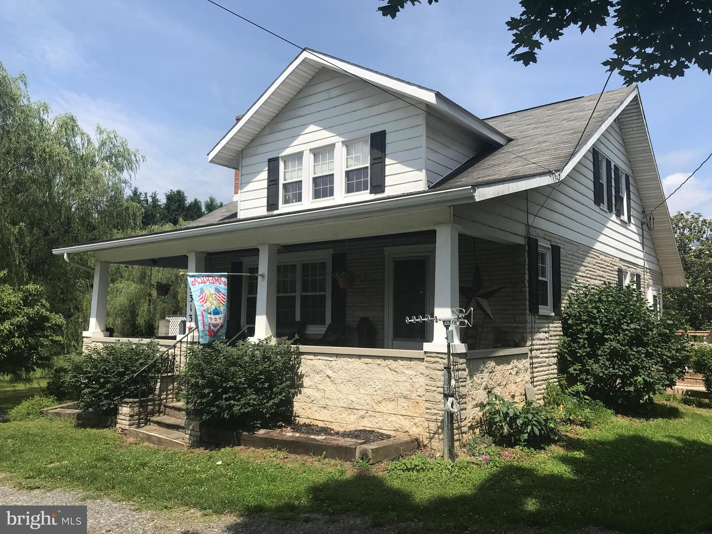Single Family for Sale at 9313 Williamsport Pike Martinsburg, West Virginia 25401 United States