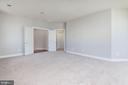 Master bedroom with huge Walk In Closet - 43586 PURPLE ASTER TER, LEESBURG