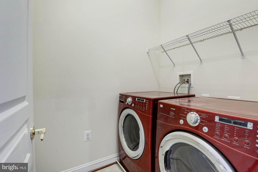 Laundry room (more storage behind door) - 43586 PURPLE ASTER TER, LEESBURG