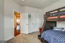BEDROOM #2- PERFECT SIZE - 22291 PHILANTHROPIC DR, ASHBURN