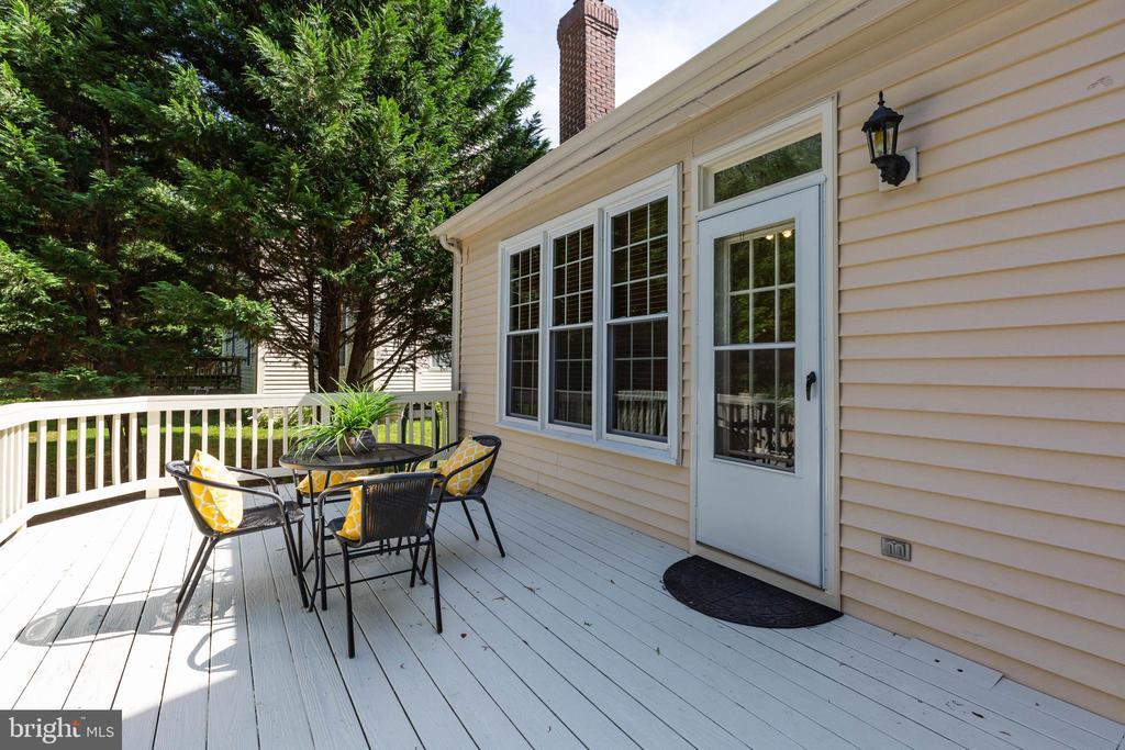 Deck - 16639 CAXTON PL, DUMFRIES