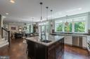 Gourmet kitchen-built in wine fridge - 2915 N SYCAMORE ST, ARLINGTON