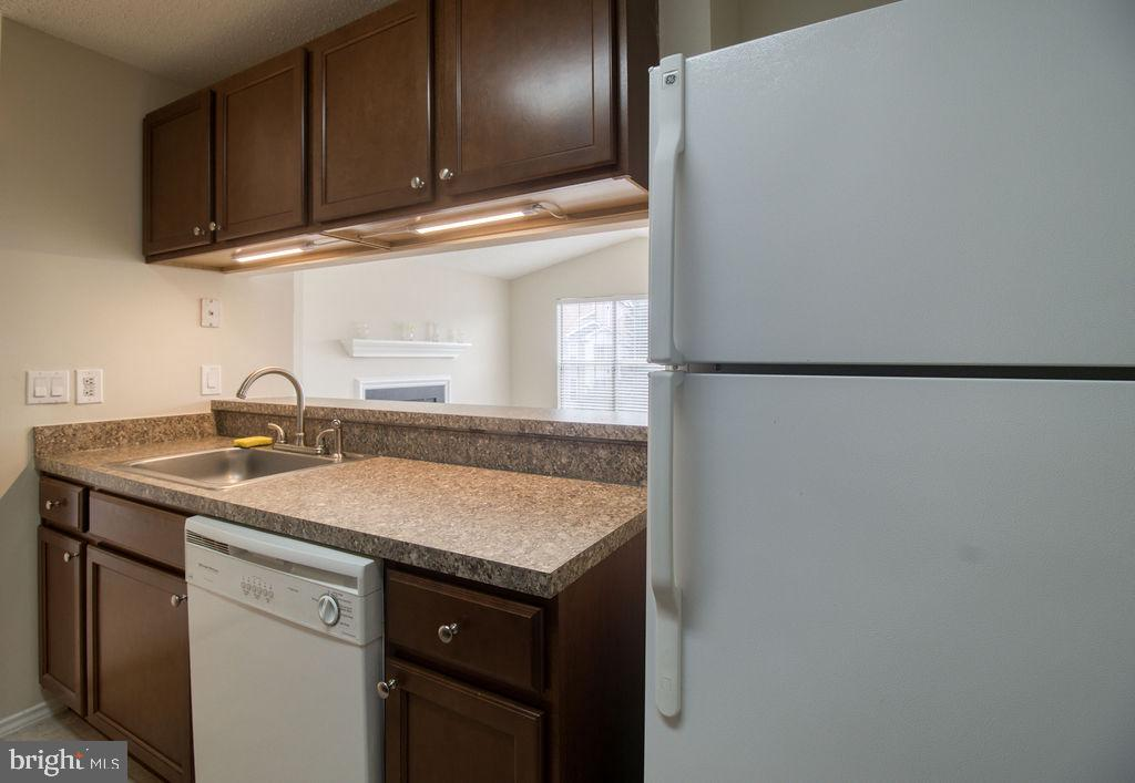 Newer Cabinetry In Kitchen - 21024 TIMBER RIDGE TER #303, ASHBURN