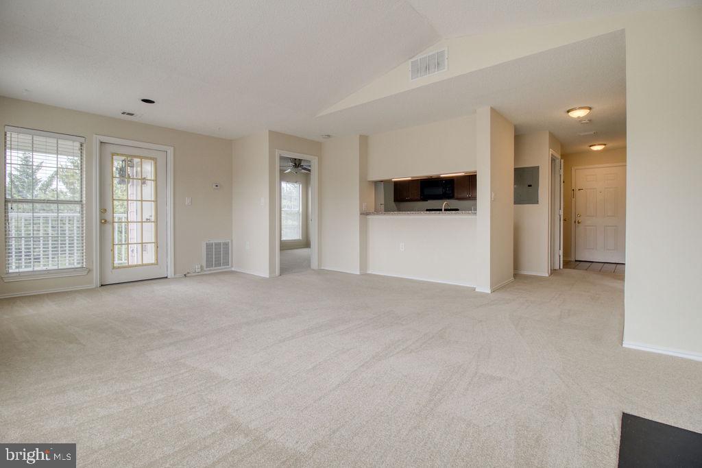 Living Room View To Master Bedroom - 21024 TIMBER RIDGE TER #303, ASHBURN