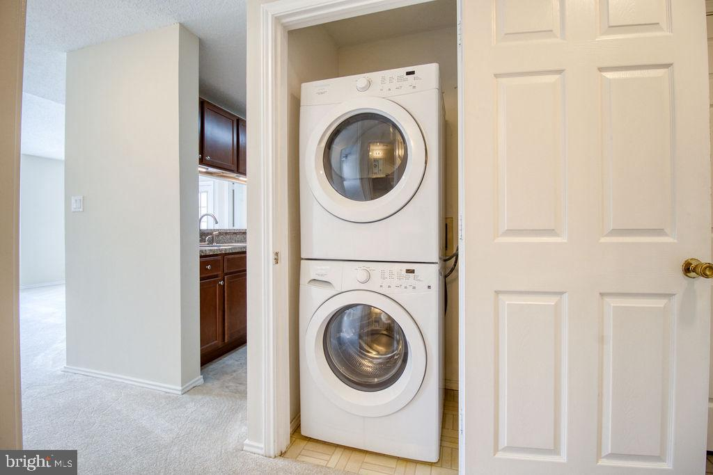 Washer And Dryer Just Off The Kitchen - 21024 TIMBER RIDGE TER #303, ASHBURN