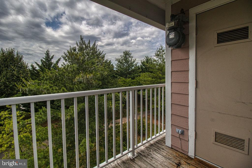 Balcony Tree View And Utility Closet - 21024 TIMBER RIDGE TER #303, ASHBURN