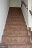 Newly carpeted steps - 19911 SPUR HILL DR, GAITHERSBURG