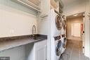 2 washers, 2 dryers, sink, folding, hanging space - 6218 30TH ST N, ARLINGTON