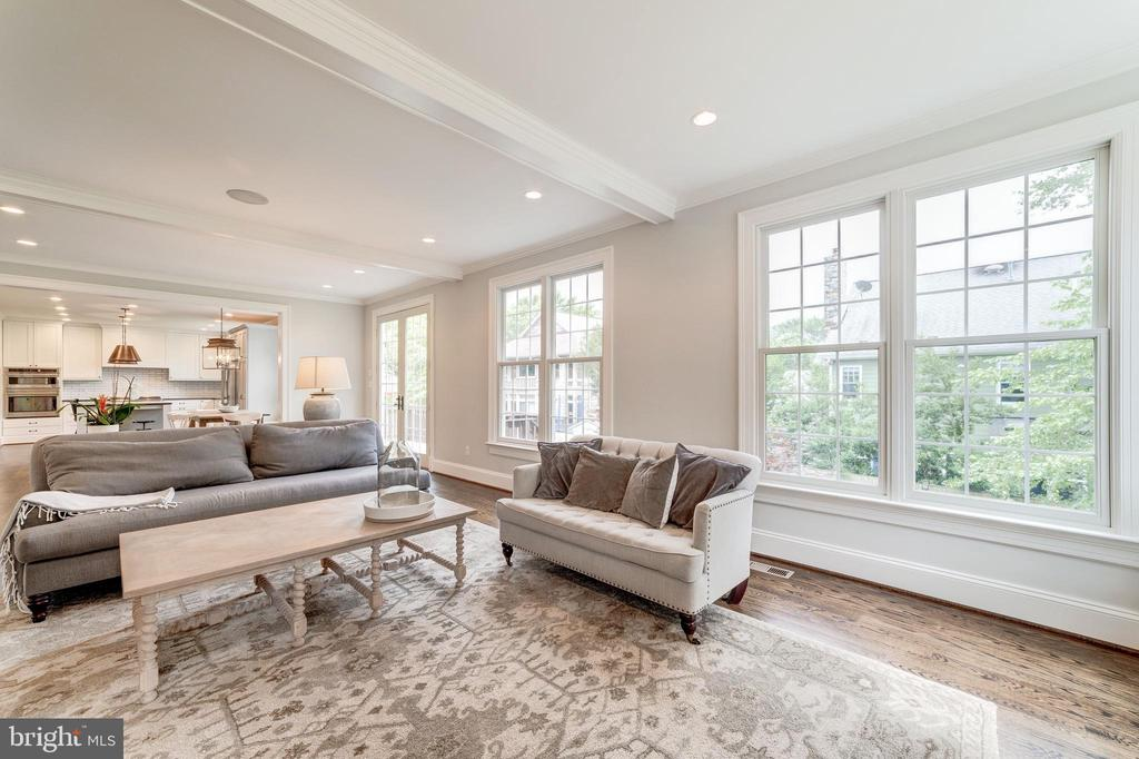 new windows and extensive moldings - 6218 30TH ST N, ARLINGTON