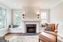 overmantel, wall sconces,  built-in window seats - 6218 30TH ST N, ARLINGTON