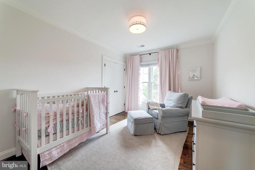 fifth upstairs bedroom is a soothing nursery - 6218 30TH ST N, ARLINGTON