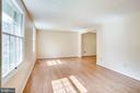 FORMAL LIVING ROOM - 8010 TREASURE TREE CT, SPRINGFIELD