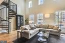 Two Story Great Room w/ Loads of Light - 1700 CLARENDON BLVD #128, ARLINGTON