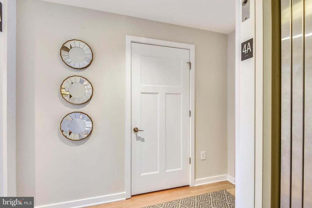 Direct Elevator Access into the Unit - 1700 CLARENDON BLVD #128, ARLINGTON