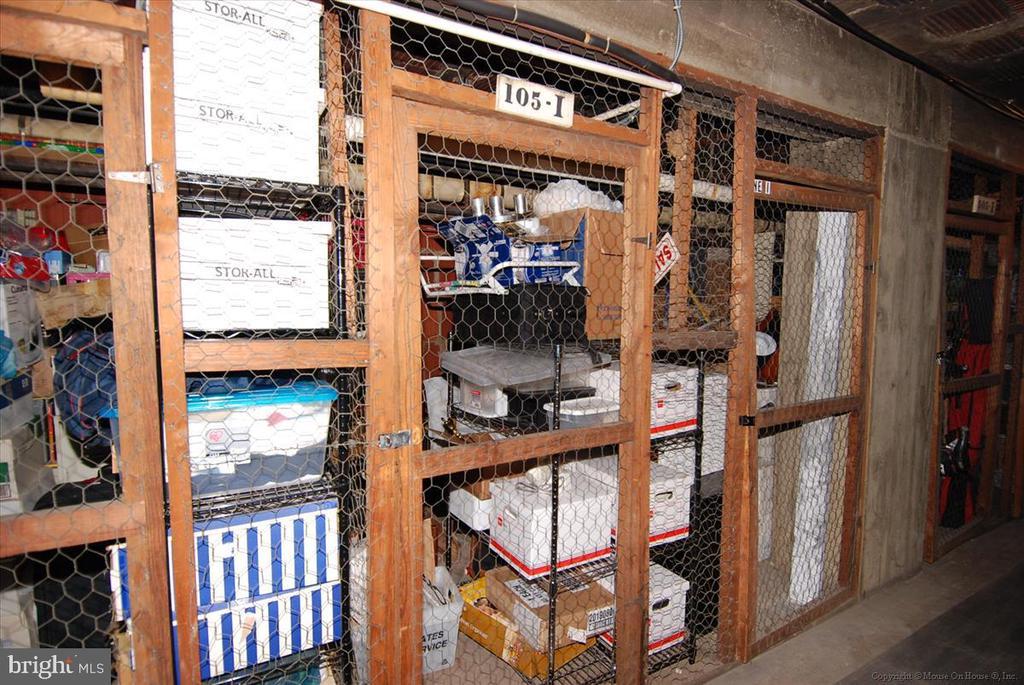 Storage bins - 3000 TILDEN ST NW #402-I, WASHINGTON