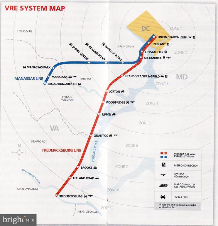 Close to VRE  Great Transportation - 8010 TREASURE TREE CT, SPRINGFIELD