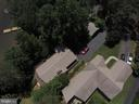 overhead view of ample parking driveway - 516 CORNWALLIS AVE, LOCUST GROVE