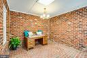 all season brick room with skylight - 160 DEACON RD, FREDERICKSBURG