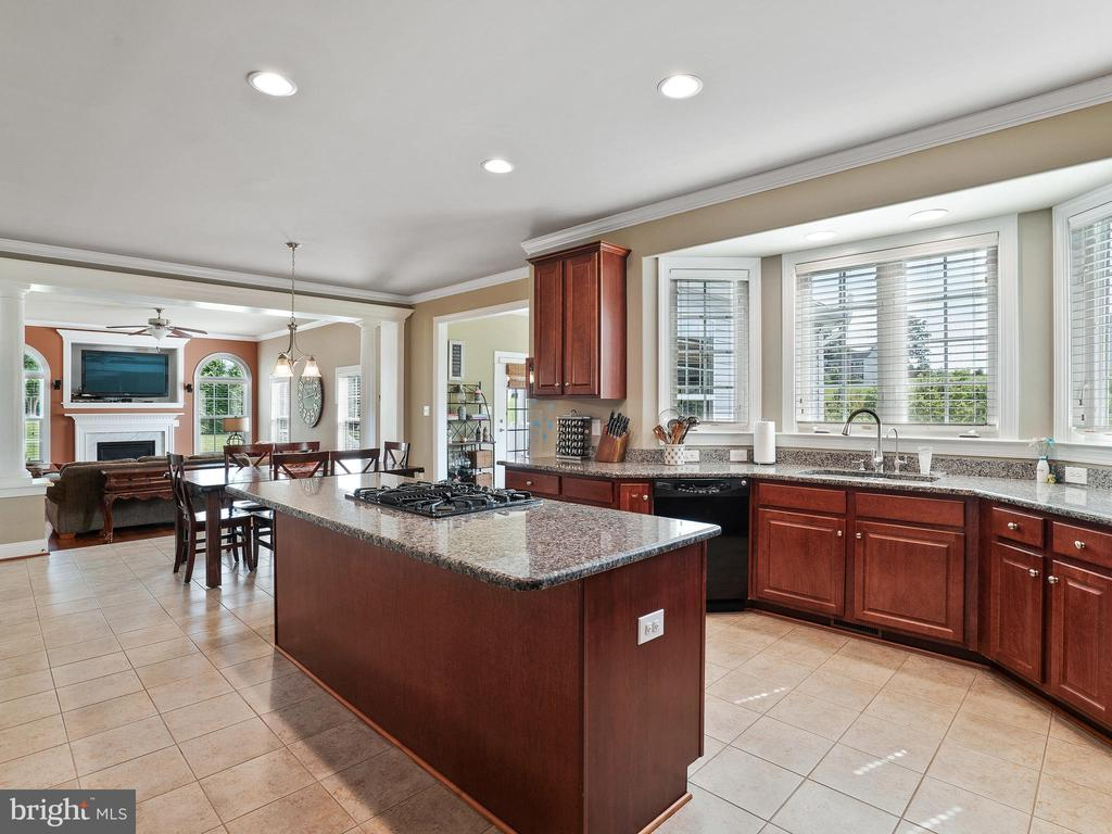 Spacious Kitchen with Bay Window & Counter - 14430 HAMILL RUN DR, GAINESVILLE