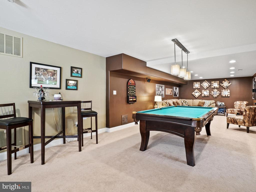 Billiards area of Rec Room - 14430 HAMILL RUN DR, GAINESVILLE