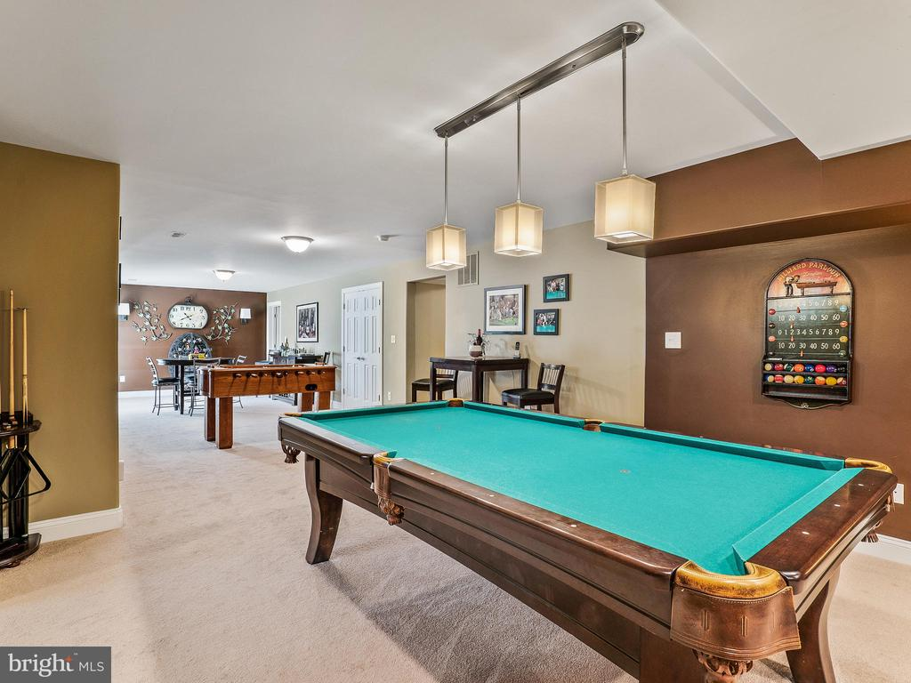 Billiards area from Entertainment Center - 14430 HAMILL RUN DR, GAINESVILLE