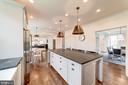 Greenfield cabinets, honed granite tops - 6218 30TH ST N, ARLINGTON