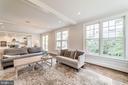 Multiple windows in family room, ceiling detail - 6218 30TH ST N, ARLINGTON