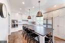 island for casual dining and chatting with cook - 6218 30TH ST N, ARLINGTON