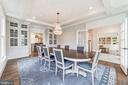 built-in cupboards and pocket doors to the kitchen - 6218 30TH ST N, ARLINGTON