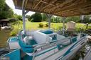 Pontoon boat conveys - 3600 MORNING GLORY RD, BUMPASS