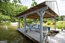 Boat dock! - 3600 MORNING GLORY RD, BUMPASS