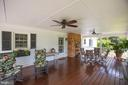 Covered Back Porch - 3600 MORNING GLORY RD, BUMPASS