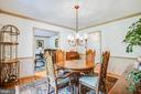 Dining Room - 3600 MORNING GLORY RD, BUMPASS