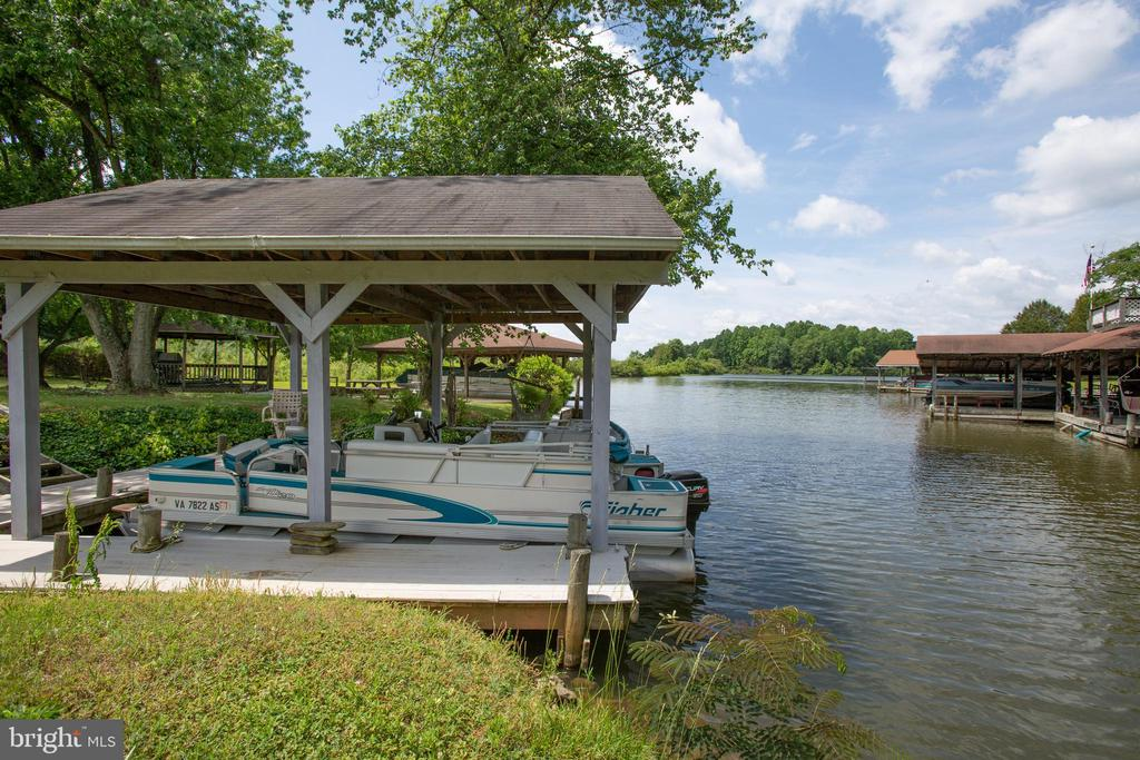 Boat slip and water front - 3600 MORNING GLORY RD, BUMPASS