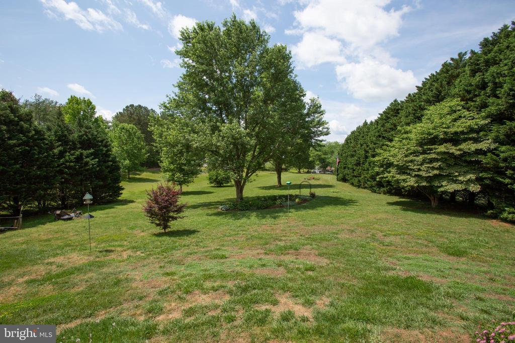 Sweeping yard! - 3600 MORNING GLORY RD, BUMPASS