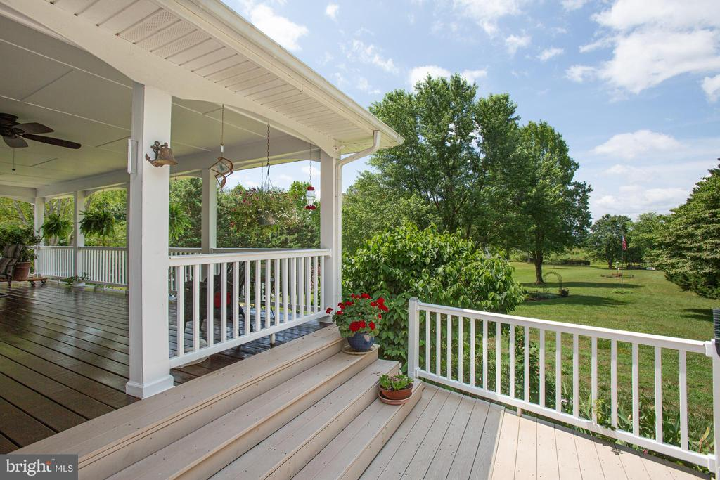 Open Deck off of Covered Porch - 3600 MORNING GLORY RD, BUMPASS
