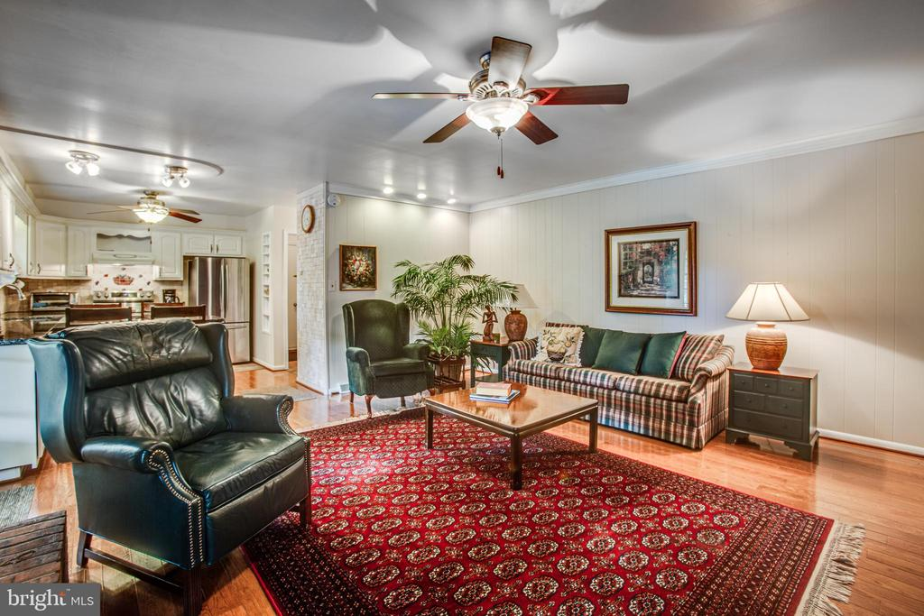 Family room and Kitchen - 3600 MORNING GLORY RD, BUMPASS