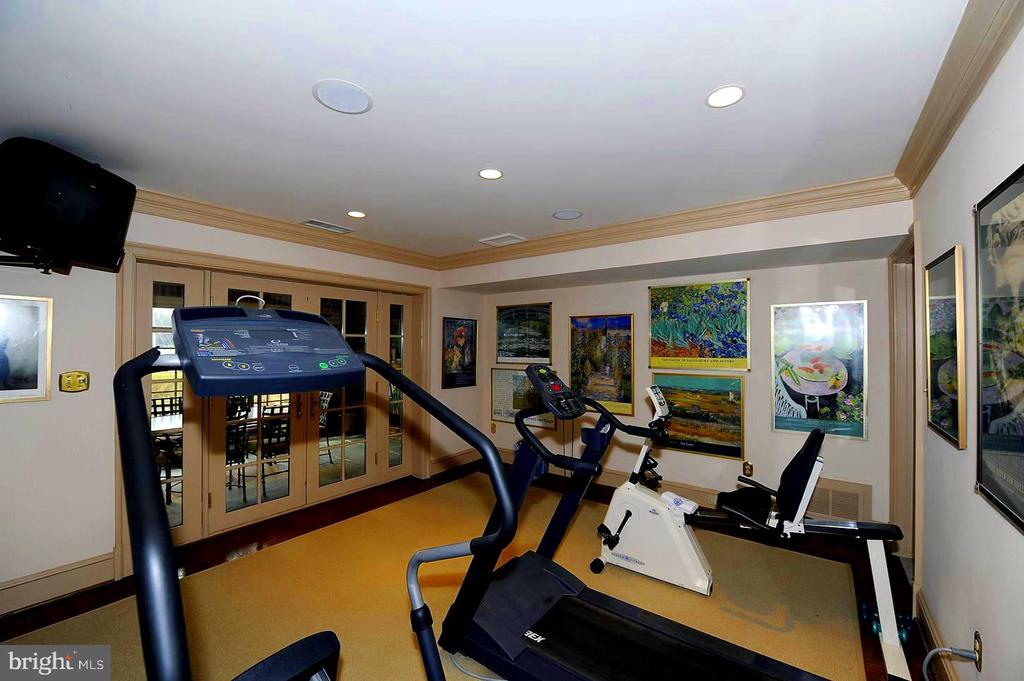 Spacious Exercise Room Beside Lap Pool - 659 ROCK COVE LN, SEVERNA PARK