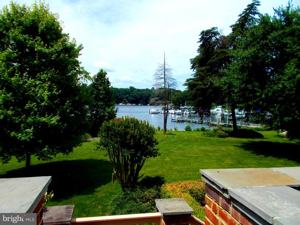View from the main deck. - 659 ROCK COVE LN, SEVERNA PARK
