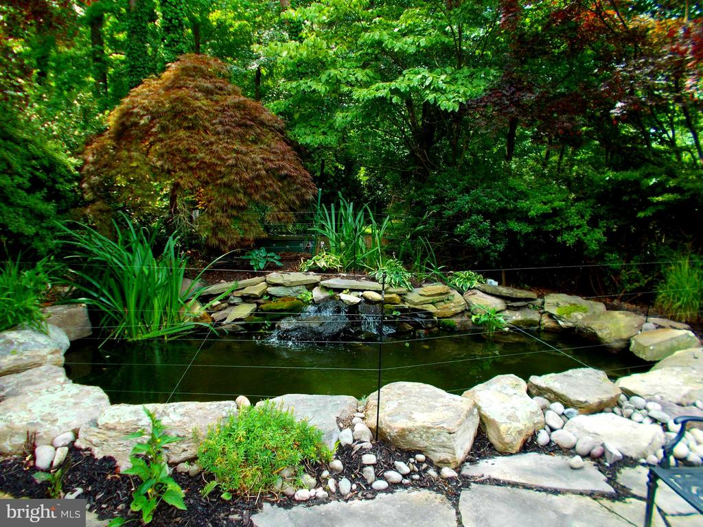 Even the fish have beautiful surroundings. - 659 ROCK COVE LN, SEVERNA PARK