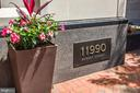 Address sign - 11990 MARKET ST #2001, RESTON