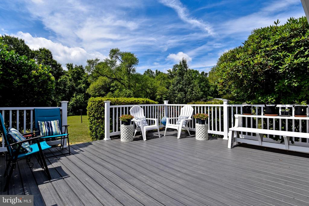 Low maintenance composite decking. - 43581 LOST CORNER RD, LEESBURG