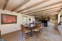 Stained, Scored, Concrete Floors - 20597 FURR RD, ROUND HILL