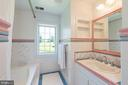 Hall Bath serves Two Bedrooms - 20597 FURR RD, ROUND HILL
